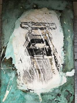 Zeche Zollverein auf Kupfer