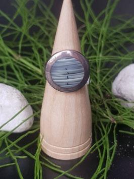 Blue Bamboo rund