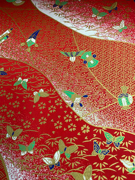 Papel japonés mariposas
