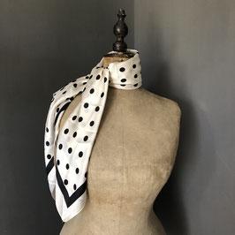 Sjaal |  Stippen wit