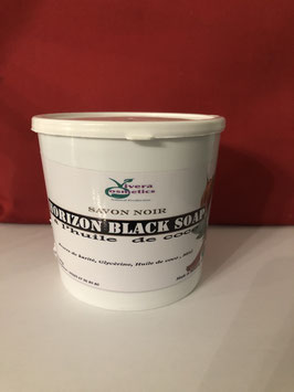 Savon noir   eclaircissant  à l'huile de coco 750g naapy gold