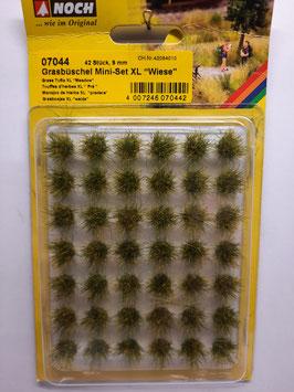 """42 touffes d'herbes """"pré""""   xl    HO 1/87 NOCH    Réf:07044"""