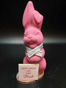 """Keep calm and eat Pink"""