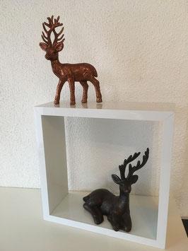 Poly/ Kunststoff Hirsche