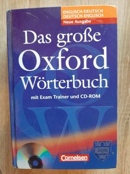 Das große Oxford Wörterbuch - Mit Examtrainer und CD Rom - neuwertig