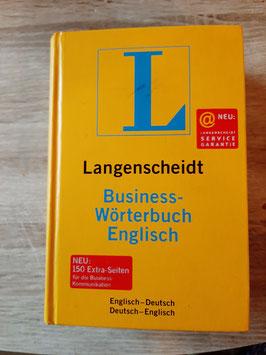 Langenscheidt Buisnesswörterbuch - Englisch