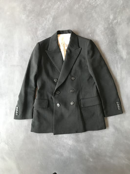 Robes&Confections/Double Cloth Worsted Matte 6B Double Breased Jacket