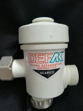 Minidefangatore per caldaia a condensazione