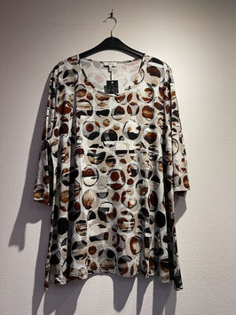 Shirt gemustert / KjBrand / 4464-512