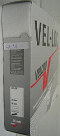Klittenband plakbaar zachte kant (velours/vrouwtje) wit 50 mm