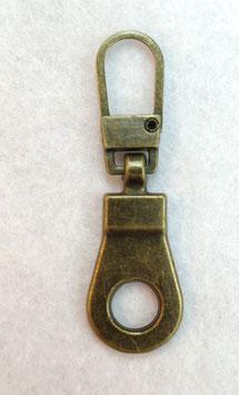 Bronskleur basis ritsenschuivertrekker