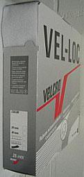 Klittenband naaibaar zachte kant (velours/vrouwtje) wit 50 mm