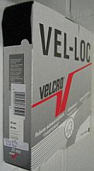 Klittenband naaibaar zachte kant (velours/vrouwtje) zwart 50 mm