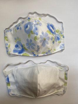 Maske mit Tasche für Filter 162 F