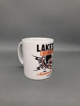 """Lakeside Bikedays Tasse """"weiß"""""""