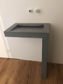 Betonwaschtisch L-Design by Nonnast ca. 60x40x90cm