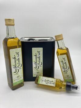 Knoblauch-Kräuteröl