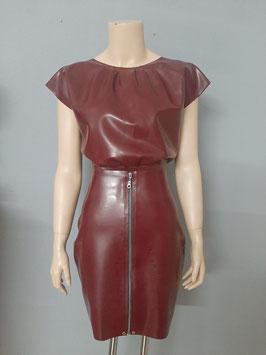 Seductive Blouse & Zip Skirt Gr. L
