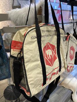 Recyclingtasche Messenger Red