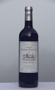 Château Mazeris Bellevue 2016 - carton 6 btls à 16 € la bouteille