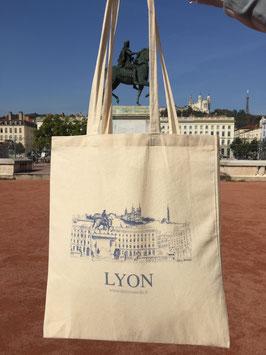 Sac Tote Bag Lyon Bellecour