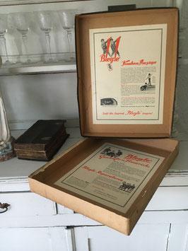 Original antiker Verpackungskarton - Selten!