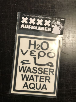 Wasser Sticker