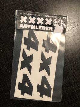 4x4 Sticker