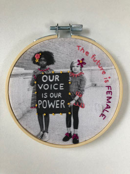 Stickbild Our Voice is our power