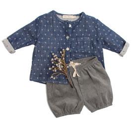 Shirt Justus (navy check)