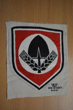 Artikelnummer : 01418 Männlicher RAD Brustabzeichen für das Sporthemd