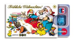 cardbox s 013 > Weihnachtsmann liegend