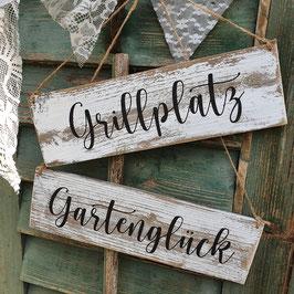 """Altholzschild """"Grillplatz"""""""