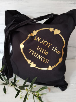 Stofftasche - Enjoy the little things