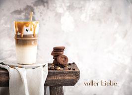 "Karte ""Voller Liebe"""