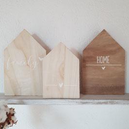 Holzhäuschen Home