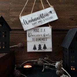 Weihnachten kommt immer so plötzlich/December to remember