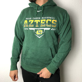 (M) VINTAGE NIKE BEAR CREEK BASEBALL AZTECS HOODIE