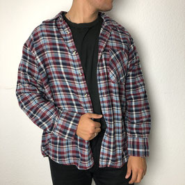 (XL) VINTAGE FLANELL HEMD