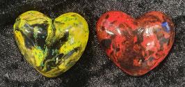 Herz farbig