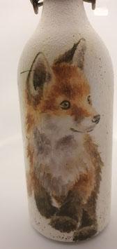 Bügelflasche junger Fuchs