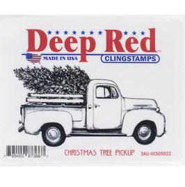 Deep Red-Stempel/Christmas Tree Pickup