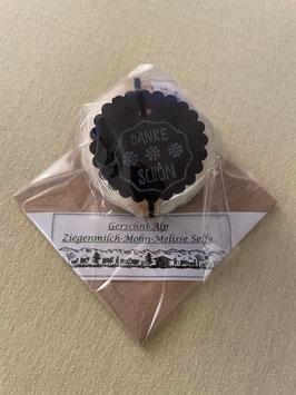 Ziegenmilch-Mohn-Melisse Seife