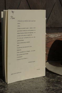 Comme en poésie le père, Frédérick Gambin