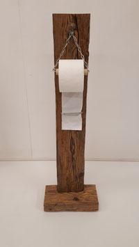 WC Papier Ständer aus Altholz