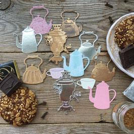Troquel MimiCut Tomamos té, café (MMC-C0040)