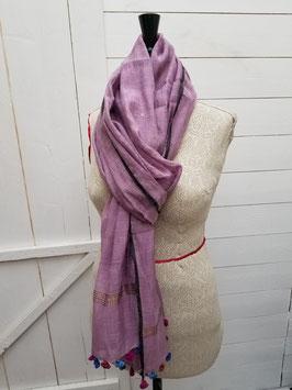 Etole coton rose poudré (SET01)