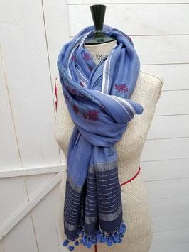 Etole coton bleu  (SET03)
