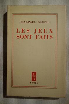 Jean-Paul Sartre, Les Jeux sont faits, édition originale