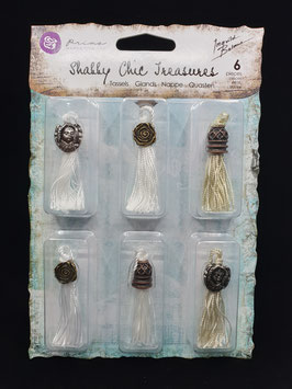 Prima Shabby Chic Tassels - Antique